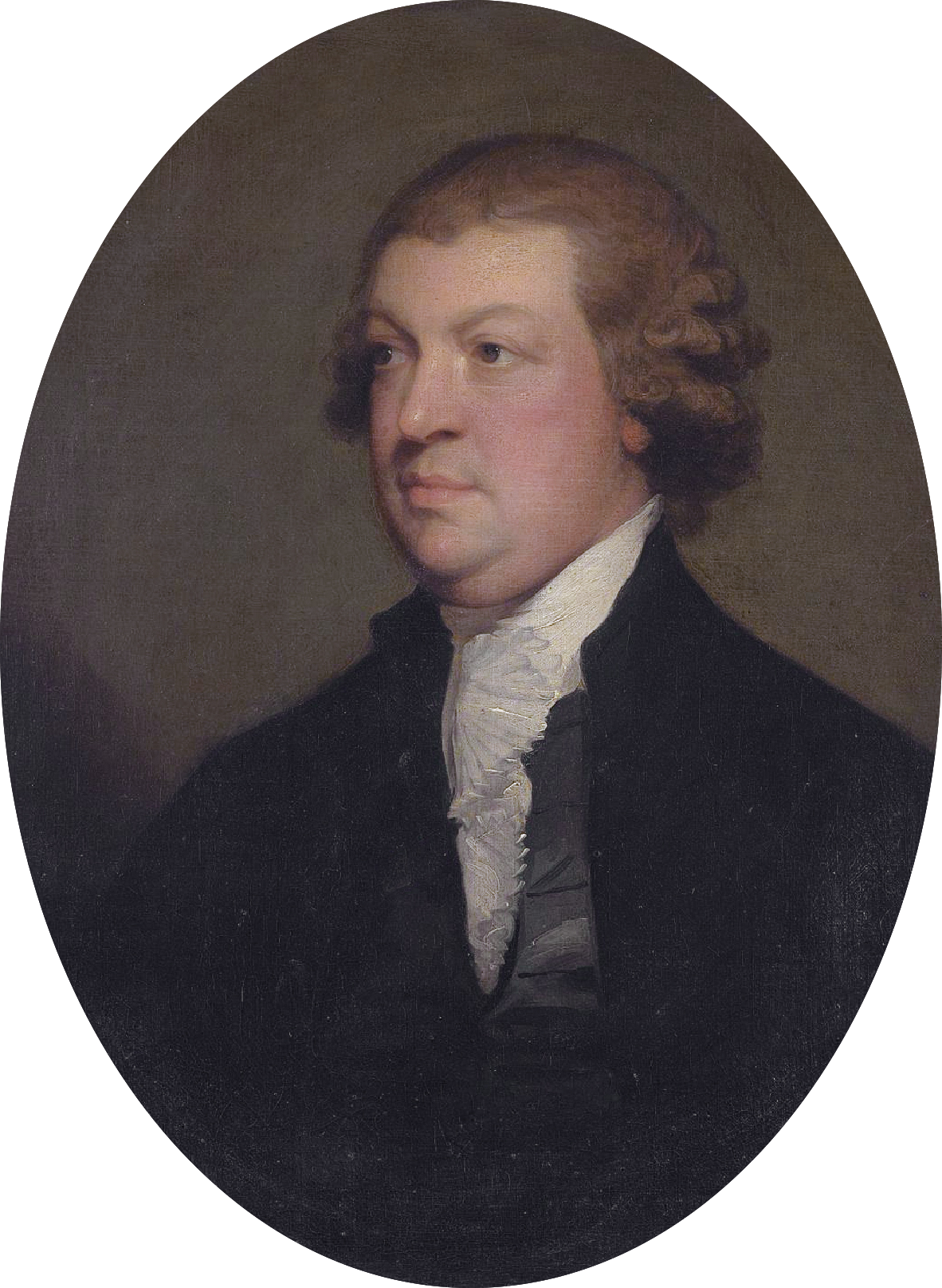 John Scott, 1st Earl of Clonmell, by Gilbert Stuart. Oil on canvas, 71.5 x 59 cm. Public Domain.